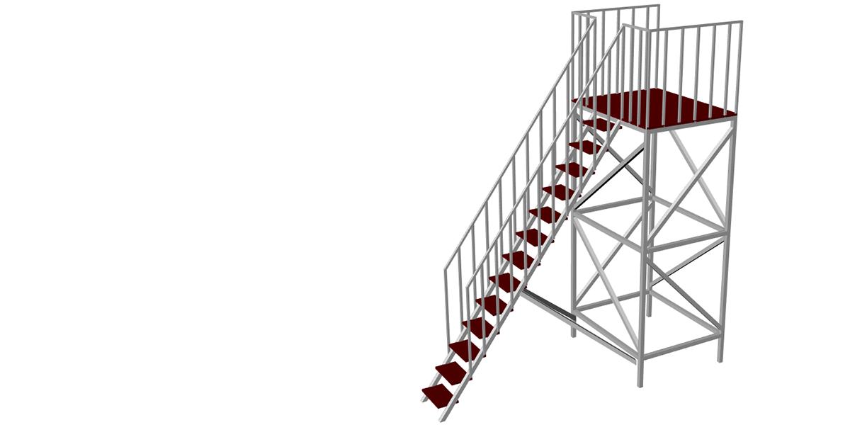 Вишки вежі для надувних водних гірок