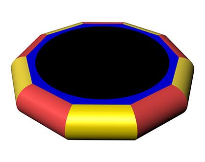 Надувной водный батут-бансер MAGOBI