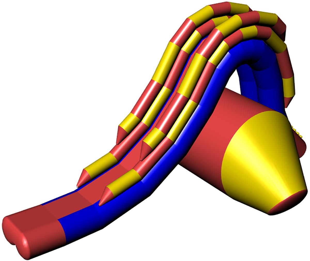 Inflatable water slide IGUASU-6