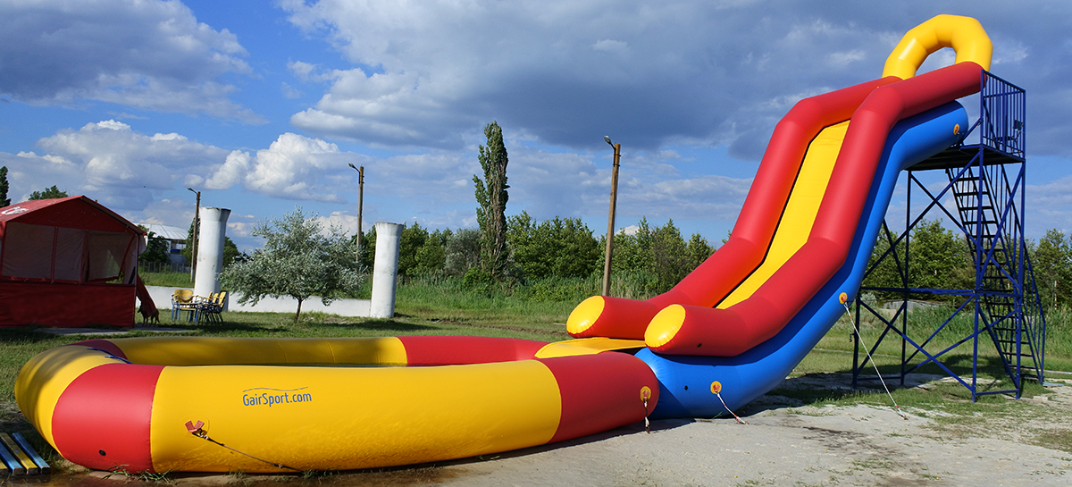 Inflatable water slide DNISTER-6 with pool #5