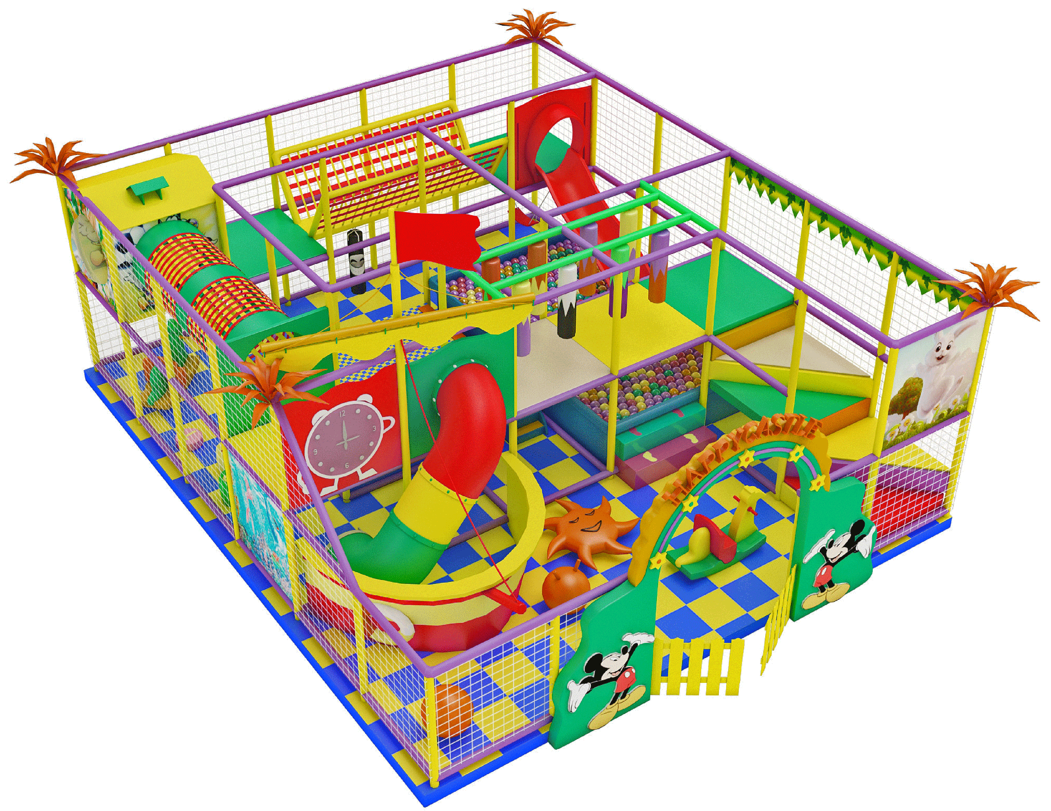 Indoor playgrounds GAIRSPORT big