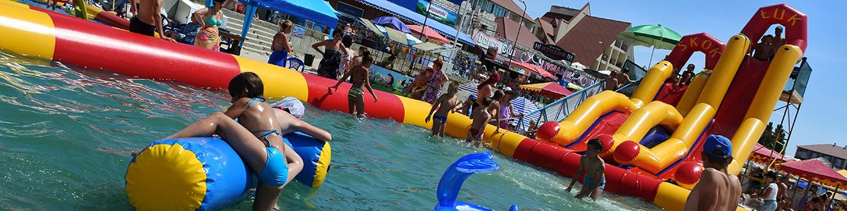 Надувные аквапарки Gairsport